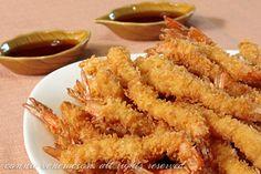 yummy, seriously delicious shrimp tempura