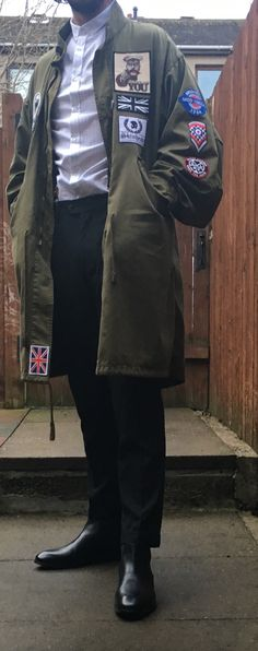 Attire sorted for March of the Mods Mod Fashion, Vintage Fashion, Mods Style, Tailor Made Suits, Fred Perry Polo, Mod Mod, Fishtail Parka, Skinhead, Military Men