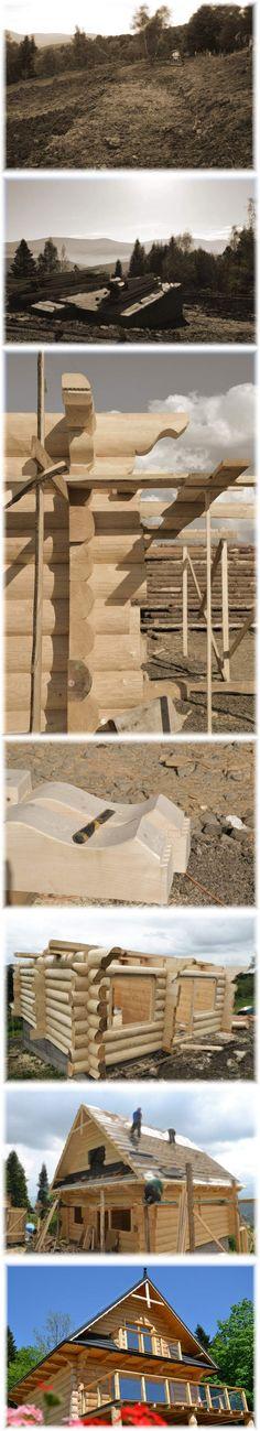 Budowa domu z bali. Czyli jak to wygląda :)