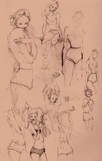 A page from my sketch book -emma leonard