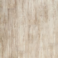 """Mannington Nantucket, an wide laminate plank. This color is Sea Shell. On trend, its soft colors and beautifully distressed texture makes this """"shabby chic"""" floor, Mannington Laminate Flooring, Laminate Wall, Engineered Hardwood Flooring, Hardwood Floors, Shabby Chic Flooring, Car Part Furniture, Distressed Texture, Nebraska Furniture Mart, Wide Plank"""