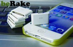 Vendo Lightning a 30 pin adaptador para iphone5/ipad4/mini/ipod touch5/nano7. pago por paypal, envío gratis por correos....
