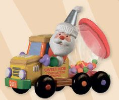 Santas Sweet Ride, KeepsakeCaboose: Hallmark Ornaments GOT IT!