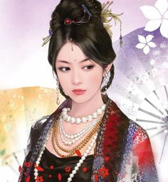 Picture Wallpapers (http://epicwallcz.blogspot.com/) Asian Gilrs Beauty Asiatic Scene Japanese Korea Chinese Clothes Drawing Illustration (http://masterwallcz.blogspot.com/) Costume Clothing Style Interacts Extraordinary Painting Techniques Art Elegant Atmosphere