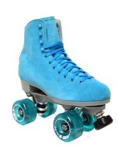Boardwalk blue outdoor skates $179