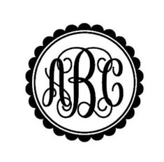 Monogram Decals, Custom decal monogram, Vinyl Monogram, Vinyl, Decals, framed monogram,yeti decal, vinyl gifts, gifts for her, monograms by SouthCoastVinylUSA on Etsy https://www.etsy.com/listing/534840872/monogram-decals-custom-decal-monogram