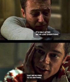 Fight Club His eyes Fight Club Tattoo, Movie Quotes, Life Quotes, Cinema Quotes, Fight Club Quotes, Fight Club 1999, Marla Singer, Tyler Durden, This Is Your Life