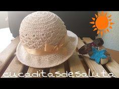 Gorro de verano / Bonnet of summer !! Tutorial DIY ¡¡ - YouTube