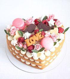 340 curtidas, 8 comentários - Home Bakery Воронеж ( no Inst. Mini Cakes, Cupcake Cakes, Bolos Naked Cake, Alphabet Cake, Decoration Patisserie, Bolo Cake, Valentines Day Cakes, Biscuit Cake, Number Cakes