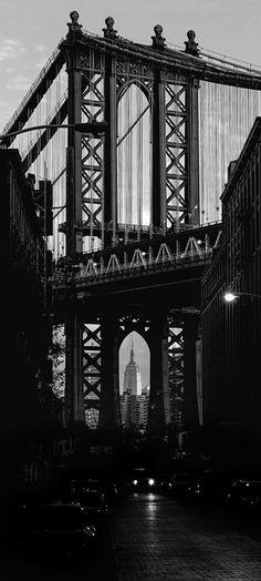 Manhattan Bridge Washington Street Brooklyn New York