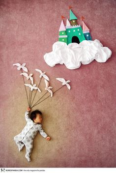 Adorable baby napping pics