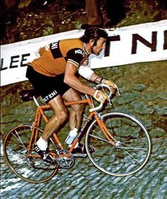 Le mur de Gramont, Tour des Flandres 1974.