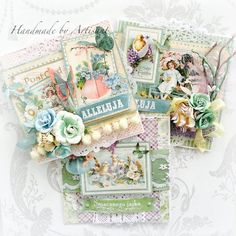 Sweet Sentiments Easter Cards by Aneta Matuszewska