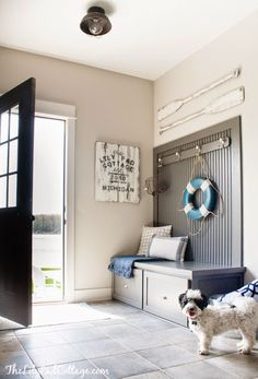 TOP THIS TOP THAT: Weekly Wow's- Pink and Black Dining Room, DIY Candle holders, Mudroom reveal,