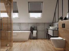 Galeria łazienek - zdjęcia, gotowe projekty - Domni.pl Bathtub, Bathroom, Standing Bath, Washroom, Bathtubs, Bath Tube, Full Bath, Bath, Bathrooms