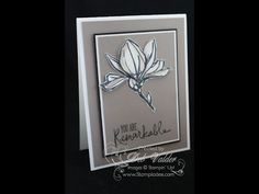 cardmaking video tutorial: The Paper Piecing Technique meets the Remarkable You Stamp Set with Deb ...