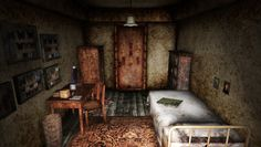 Alessa's room seen in Silent Hill 3