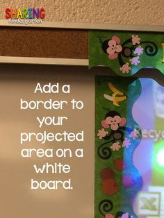 Sharing Kindergarten: Working on the Room... So Grab Some Tips