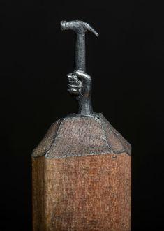 Les sculptures de crayon de Cindy Chinn  2Tout2Rien