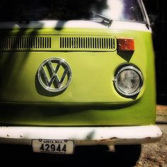 VW Bus Art  60's Hippie Art  Costa Rica by TheLonelyPixel on Etsy, $15.00