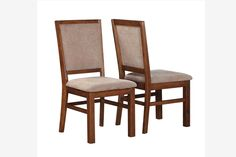 Discount Furniture Lakeland Fl Light oak, Parsons chairs and Dark brown leather on Pinterest