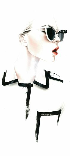 Fashion illustration // Antonio Soares