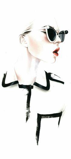 Fashion illustration // Antonio Soares