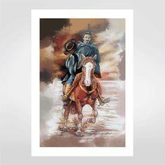 Fine art Gaúcho por Glaucia Scherer R$48,00