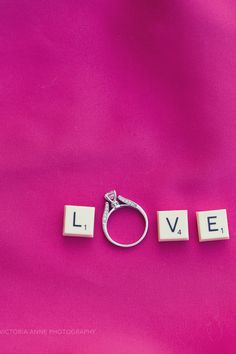 Victoria Anne Photography - LOVE - pink