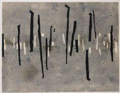 Walking - Wang Huaiqing Contemporary Chinese Art Ashmolean Exhibition