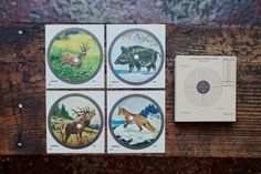 vintage german shooting targets, would make a cool present