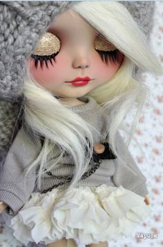 OOAK Custom Blythe Doll Sunshine Holiday by Mapuca #doll #blythe #ooak