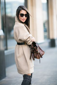 Cocoon :: Oversized coat