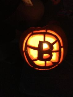 Another Bruins Pumpkin This One By A 12 Year Old Thanks To