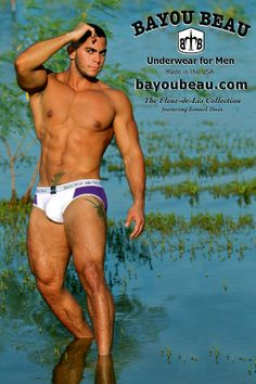 Ismael Bayou Beau - purple and white