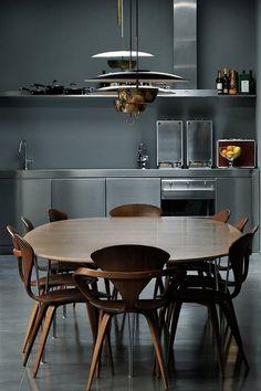 Love love love love love the lights ommboom: Maurizio Pecoraro's Elegant Home in Milan |...