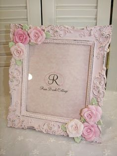 Rose Brook Cottage: Pink Clay Roses