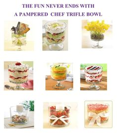 Pampered Chef Trifle Bowl
