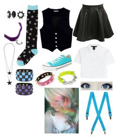 """Me if I was anime"" by fallingintheveilwithsirens333 ❤ liked on Polyvore featuring Pilot, Marc by Marc Jacobs, AG Adriano Goldschmied, Billabong, Converse, Bling Jewelry, Pieces, Swesky, Gypsy SOULE and women's clothing"