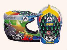 1998 Troy Lee Designs Arai VX of Damon Huffman | Flickr - Photo Sharing!