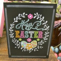 Find creative inspiration for your own Easter Chalkboard DIY, or get a printable! Holidays are always fun for decorating, make this Easter special. Chalkboard Writing, Chalkboard Table, Chalkboard Print, Chalkboard Lettering, Chalkboard Designs, Chalkboard Ideas, Chalkboard Drawings, Thanksgiving Chalkboard, Christmas Chalkboard Art