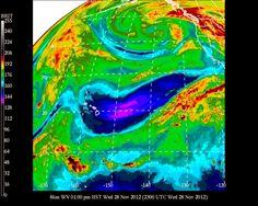 #UHManoa #Hawaii #Meteorology #Weather #Temp 80F #RH 58% #Winds SE 15mph #MostlySunny #HNL