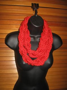 Braided Infinity Scarf  Burnt Orange Cowl by TheLittleBarntique, $14.95