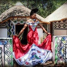 Its the reason why i love the ndebele culture African Traditional Wedding, Traditional Weddings, African Traditional Dresses, Traditional Outfits, African Dresses For Women, African Print Dresses, African Fashion Dresses, African Prints, African Clothes