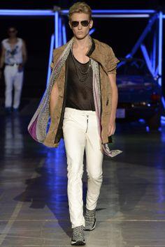 Roberto Cavalli, spring/summer 2015 menswear