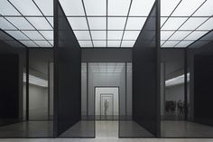 """Currently on view at the Secession in Vienna this summer is Robert Irwin'sDouble Blind. This """"site-conditioned"""" work responds to the unique architectural features of the main gallery. As with many of Irwin's installations, the piece engages with such themes as experience, illusion, and light. This is Irwin's first solo show in Vienna and itis on view until September 1st, 2013."""