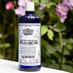 I bought this today! lets see if its good :) Roberts Acqua alle Rose Italian rose water Italian Water, Rose Water, Apothecary, Vodka Bottle, Connection, My Love, Ears, Shower, Night
