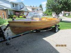 16' Giesler Cedar Strip Boat, Motor & Trailer Kitchener / Waterloo Kitchener Area image 1