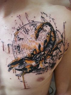 40 Amazing Scorpion Tattoo Designs and Meaning - Self Protection Check more at http://tattoo-journal.com/25-best-scorpion-tattoos/
