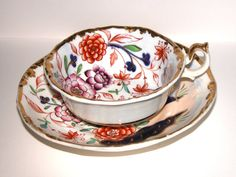 Antique Imari cup and saucer by NAttic on Etsy